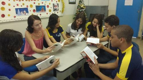 Clube da Leitura, com interpretação de textos, foi uma das ações realizadas no CEM de Gurupi