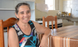 Zileide disse que a casa representa a dignidade de não ter que depender tanto da família para se sustentar