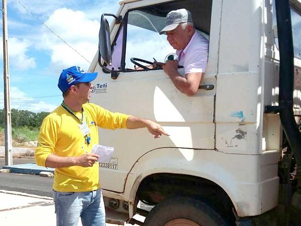 Balança rodoviária no município de Miracema foi reativada após passar por revitalização - Divulgação Governo do Tocantins