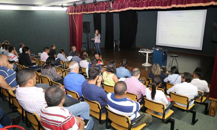 O Governo do Estado realizou oficina em Palmas para orientar os gestores sobre a elaboração de projetos do Ministério do Esporte