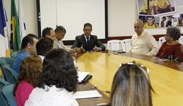 Durante o encontro, os gestores discutiram ações para o fortalecimento da educação no Estado