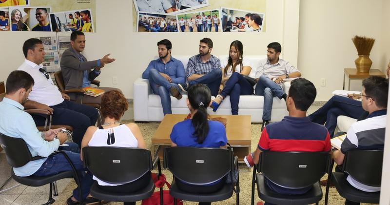 Em reunião, foram acordados trabalhos integrados com foco no ambiente escolar
