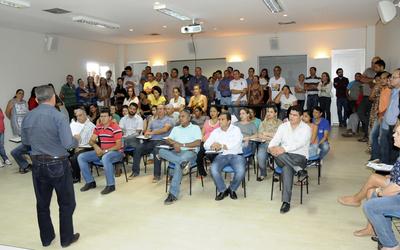 A reunião foi comandada pelo subsecretário da Agricultura, Hermes Azevedo, que ressaltou a importância das ações de prevenção