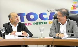 O governador comentou que  a passagem da Tocha Olímpica em Palmas representa a antecipação da comemoração de um evento que já propaga esperança e boas energias.