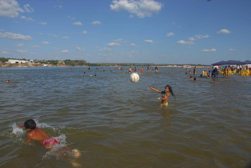 30c49ff9081f Praias nos rios Araguaia e Tocantins garantem diversão na alta temporada