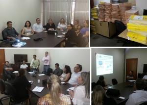 Apresentação do projeto PAE aos gestores da SECAD.