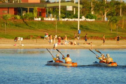 Canoagem no Lago de Palmas