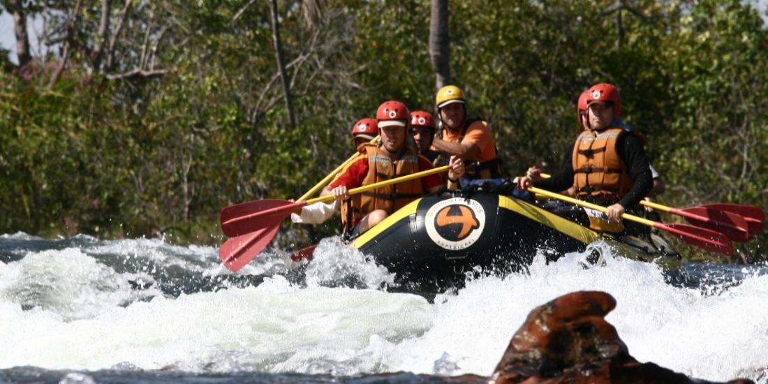 Rafting no Jalapão