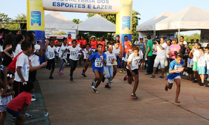 Corrida Mirim reuniu mais de 200 crianças em Palmas