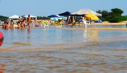 Praia da Gaivota nas proximidades de  Araguacema