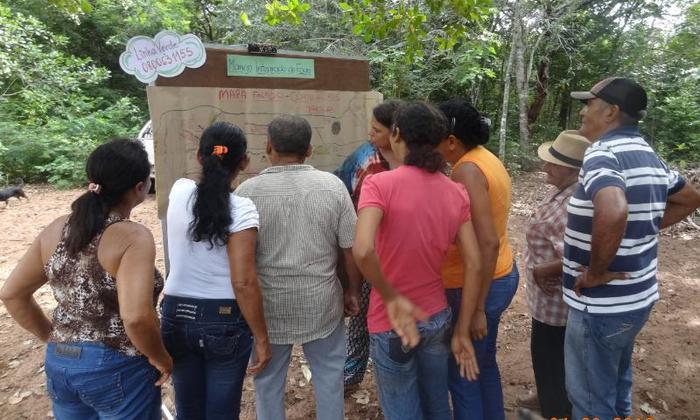 Comunidade acompanha o calendário do manejo do fogo