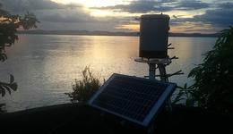 Plataformas de Coleta de Dados (PCDs) distribuídas pelo Estado para coletar dados que são são usados para a gestão da água