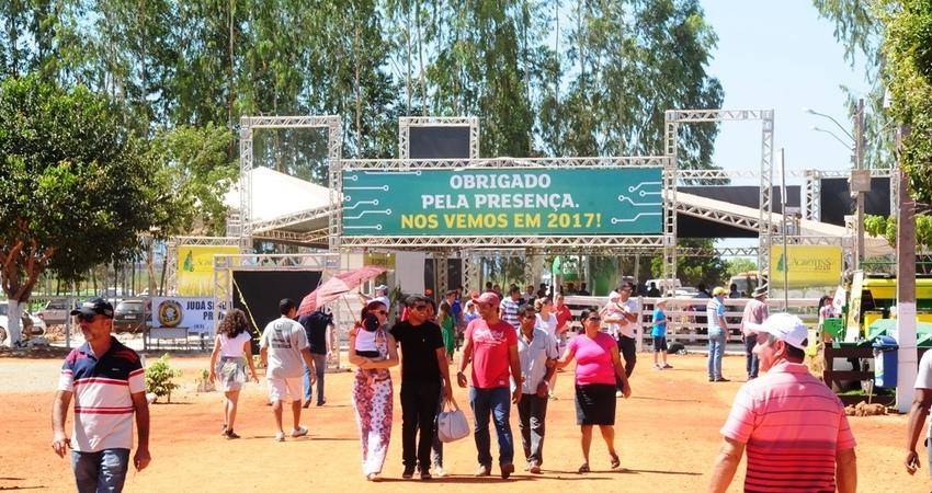 O número de visitantes foi de 85.866 pessoas, durante os cinco dias de evento
