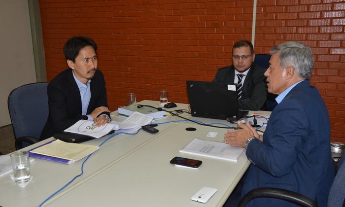 O secretário-chefe da Controladoria Geral do Estado, Luiz Antonio da Rocha, aproveitou para buscar apoio financeiro junto ao Banco Mundial visando melhorias no Sistema de Controle Interno do órgão.