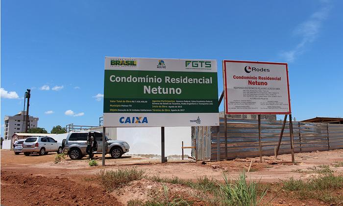 As áreas onde estão sendo construídos os empreendimentos foram doadas pelo Estado, o que diminuiu o custo do imóvel