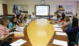 A reunião foi realizada com a presença dos membros do comitê gestor do Pnaic, representantes da Seduc, da UFT e da Undime