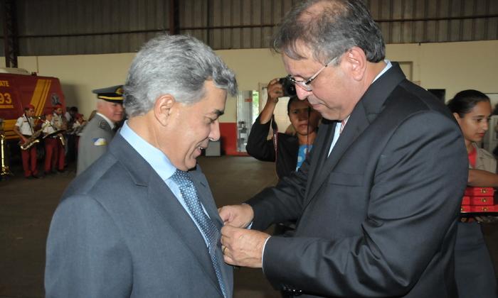 Secretário Luiz Antonio da Rocha recebe homenagem do Governo por relevantes serviços prestados ao Estado