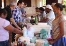 Feirinha organizada durante todo o evento movimentou a economia da comunidade