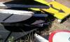 Placas danificadas recolhidas pela Ageto nas rodovias para conserto e reposição
