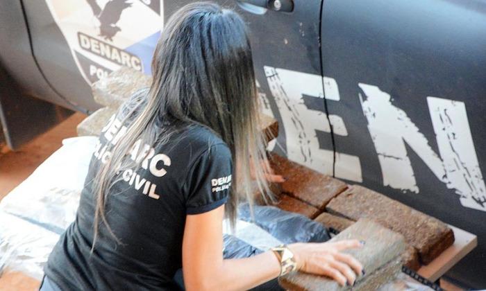 De janeiro até maio deste ano, a Polícia Civil do Tocantins apreendeu mais de 390 kg de drogas e prendeu em flagrante 74 pessoas no Estado