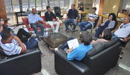 Equipe da Seciju realiza reunião com representantes dos candidatos do concurso
