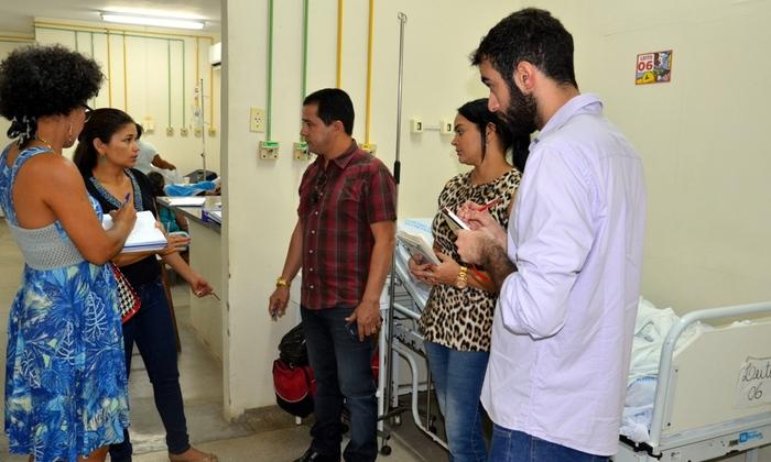 Equipe da Saúde ouviu demandas de servidores e vão tomar providências - Nielcem Fernandes.JPG