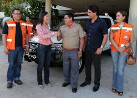 Para o comandante do Corpo de Bombeiros do Tocantins, a doação da caminhonete vai reforçar o trabalho do combate às queimadas no Estado