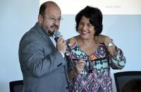 Marcos Musafir agradeceu disponibilidade da pesquisadora Glória Teixeira em compartilhar seu conhecimento