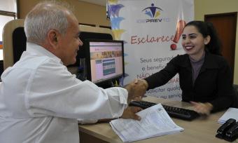 O aposentado Anecir Vasconcelos Garcia elogiou o atendimento recebido no Igeprev