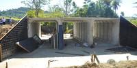 Galeria tripla quase pronta no trecho dois do lote 12, na zona rural de Colinas do Tocantins - Thiago Sá.JPG