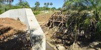 Ponte de concreto atenderá ao transporte de gado de corte com segurança e conforto. Fazendeiros locais solicitaram a construção ao Governo do Estado em consulta pública - Thiago S.JPG