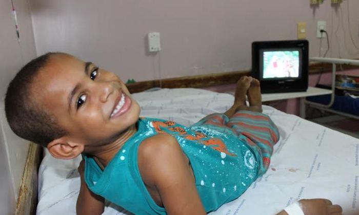 Em Gurupi, o pequeno Getúlio é só alegria com o atendimento que recebeu na unidade - Clifton Morais_700x420.jpg