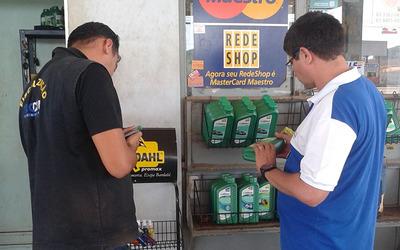 A operação ocorreu em postos de combustíveis de Porto Nacional e do distrito de Luzimangues