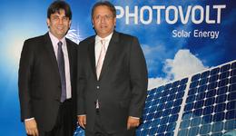 O governador Marcelo Miranda prestigiou a apresentação do projeto de implantação do Parque Tecnológico Photovolt, em Palmas, feita pelo presidente da Photovolt, Wellington Romanhol