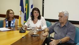 Secretária Wanessa apresenta nova superintendente da Educação, Jucylene Borba
