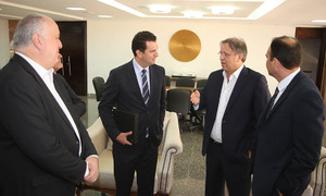Marcelo Miranda disse que as instituições financeiras têm um papel importante no processo de desenvolvimento do Tocantins