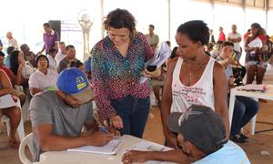 Moradores do Jardim Taquari podem ir à feira coberta munidos de documentos pessoais