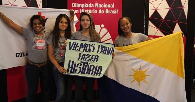 O Tocantins participou da fase final da Olimpíada de História com duas equipes e trouxe na bagagem muita experiência e medalhas de honra ao mérito