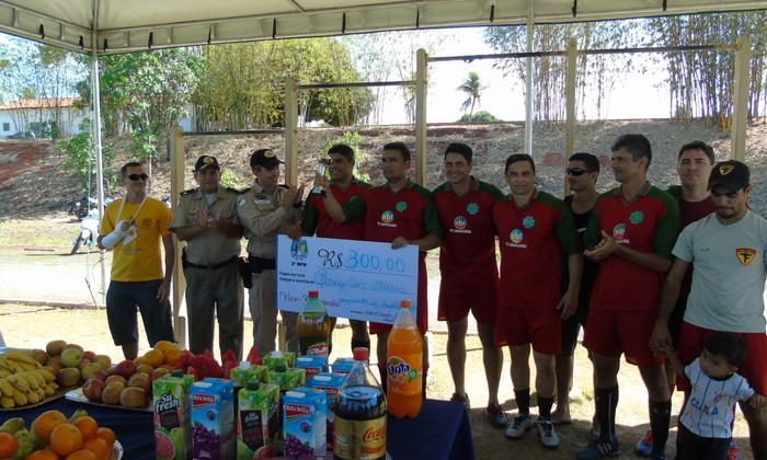 PM realiza Torneio do Dia do Soldado em Araguaína .