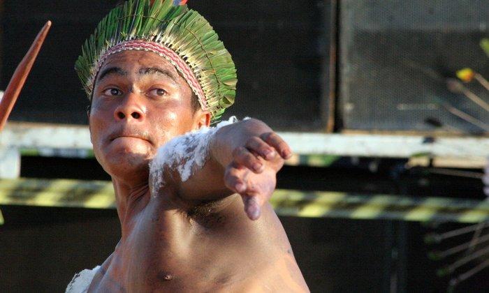 Índio pertencente ao povo Xambioá Karajá na região norte do Tocantins.