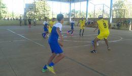 A semana foi encerrada com uma partida de futsal entre os alunos da Apae de Aliança