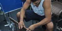 Confecção de cadeiras na CPPP é oportunidade de inserção no mercado de trabalho.