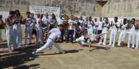 O Grupo Cristo Vive reúne cerca de 100 praticantes de capoeira na CPPP.