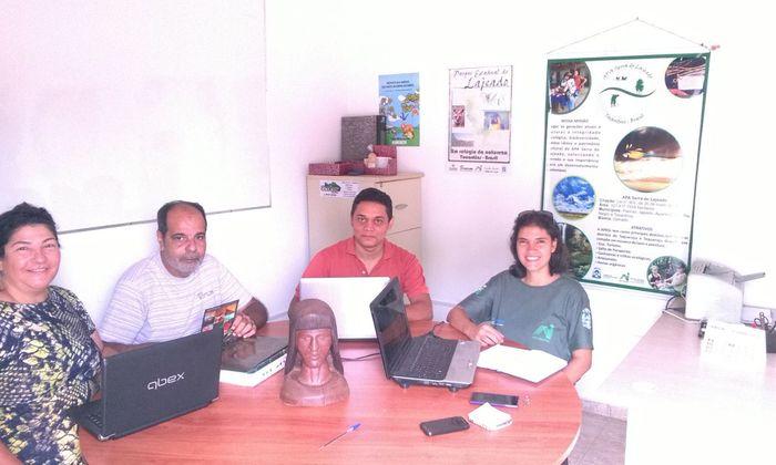 Equipes das Apas Serra do Lajeado, Lago de Palmas e do PEL se articulam para iniciar elaboração do plano da educação ambiental