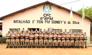 Com estágio finalizado, a turma de militares do 1º Curso de Força Tática do 6º Batalhão da Polícia Militar terá formatura na sexta-feira, 30