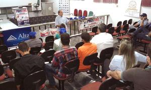 A 1ª etapa do workshop teve início na segunda feira, 26, em Colmeia; e a 2ª etapa, na terça-feira, 27, em Augustinópolis, com a participação de mais de 80 pessoas