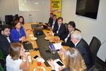 Secretários de Estado durante a reunião da Câmara de Educação
