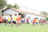 Escolinha Nilton Santos ficou lotada de alunos e familiares na festa do Dia das Crianças