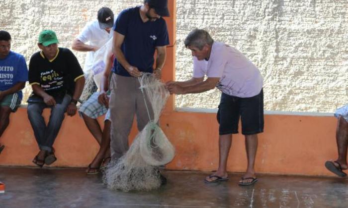 A pesquisa já aconteceu em 14 municípios das margens do Araguaia com visitas a 11 colônias de pescadores artesanais