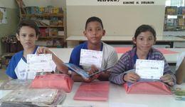Ações de leitura incentiva os alunos a terem mais contato com os livros